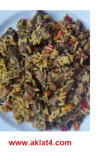 طريقة عمل الأرز بالكبد والقوانص