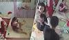 (Video) 'Kau pukul anak aku!' - Bapa sepak pembantu rumah pukul bayinya