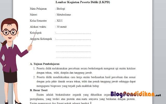7 Komponen Dalam Penyusunan LKPD, Wajib Anda Ketahui