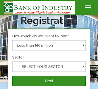 Bank of industry loans