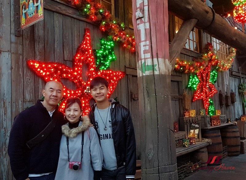 tokyo disneysea anniversary christmas decorations