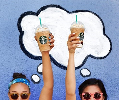Starbucks 50% off Frappuccino Happy Hour
