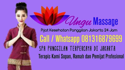 Massage Pijat Panggilan Jakarta 24 Jam