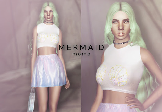 High Waisted Mermaid Skirts