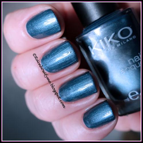 Kiko: #517 Metallic Steel Blue
