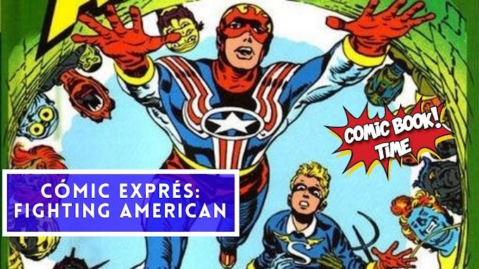 """Cómic Exprés: """"Fighting American"""" de Joe Simon y Jakc Kirby"""