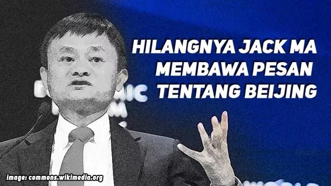Penyebab Jack Ma Hilang