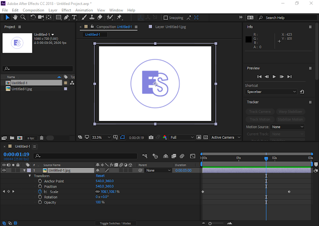 Adobe After Effects CC 2018 | Progect