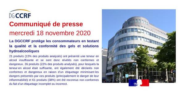De nombreux gels hydroalcooliques vendus en France s'avèrent dangereux et inefficaces
