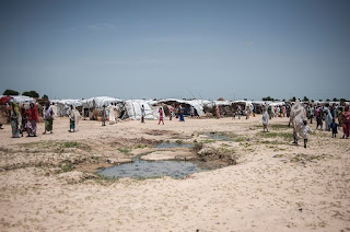 Internally displaced persons camp Borno state