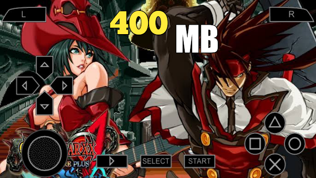 400 MB Guilty Gear Accent PSP Game ISO Highly Compressed File