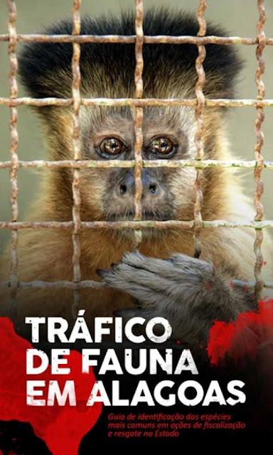 IMA lança livro sobre as espécies mais traficadas da fauna silvestre em Alagoas