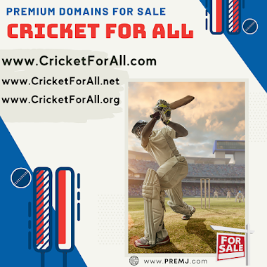 Cricket Domains For Sale (CLICK HERE TO VIEW FULL LIST)