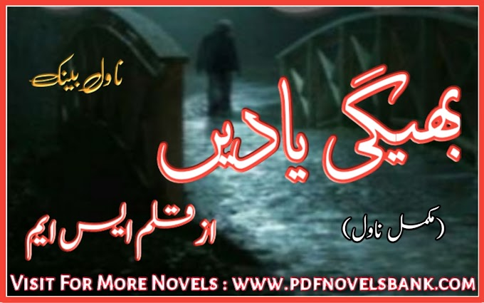 Bheegi Yadain Novel by SM Writer Complete Pdf Download