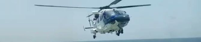 Dhruv MK-III Undergoes Handling Work On Coast Guard Ship: UK Media