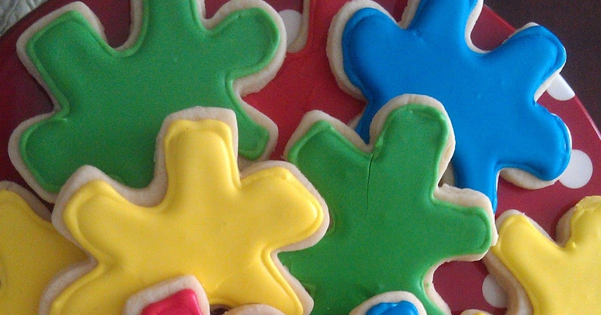 Lemon Law Ma >> Bee'in Creative With Cookies by Julie : Autism Awareness ...