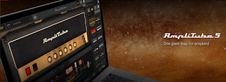 Image of the IK Multimedia Amplitube 5 Amplifier Sim program screen