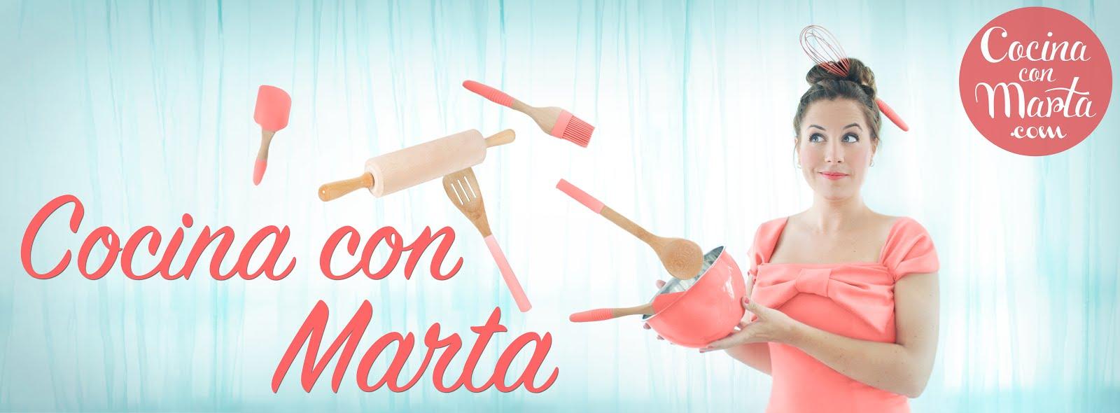 Cocina con Marta. Recetas fáciles, rápidas y caseras