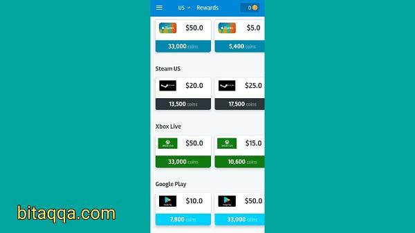 أفضل تطبيق لربح بطاقات جوجل بلاي 2020