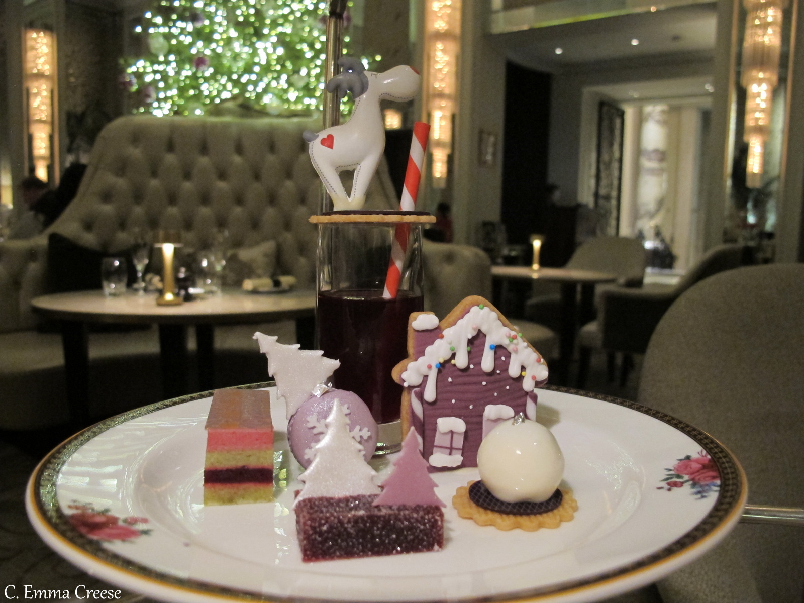 Luxury Festive Afternoon Tea Langham Hotel Adventures of a London Kiwi
