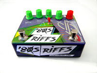 80s RIFFS, Distortion with Boost