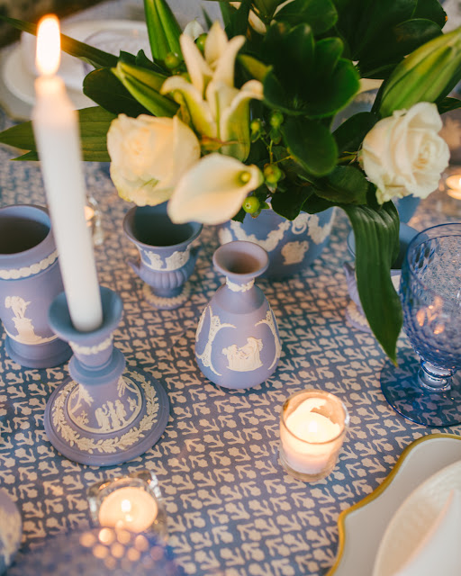 Wedgwood Blue Inspired Tablescape