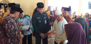 Walikota Jambi Penyerahan Dana Zakat, Infaq, Dari Baznas Kepada Mustahiq Ramadhan Tahun 1440 H 2019 Se-Kota Jambi.