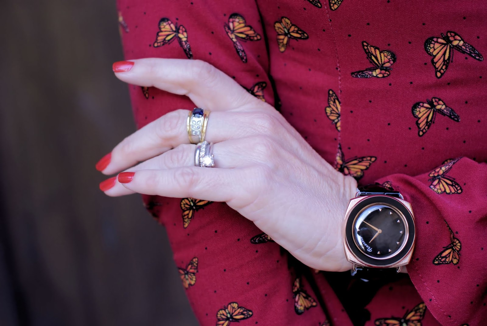 Penarosa watch on Fashion and Cookies fashion blog