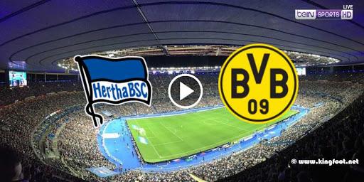 مشاهدة ملخص مباراة بوروسيا دورتموند وهيرتا برلين بث مباشر اون لاين 06-06-2020 كورة ستار