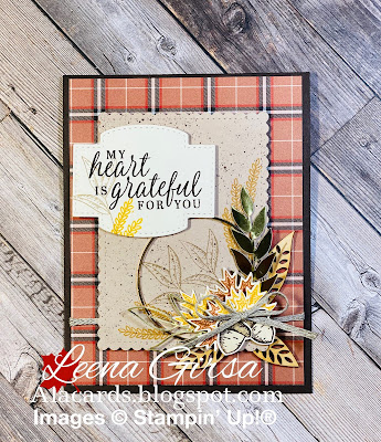 handmade fall card