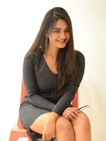 Neha Deshpande sizzling at Bullet movie launch-cover-photo