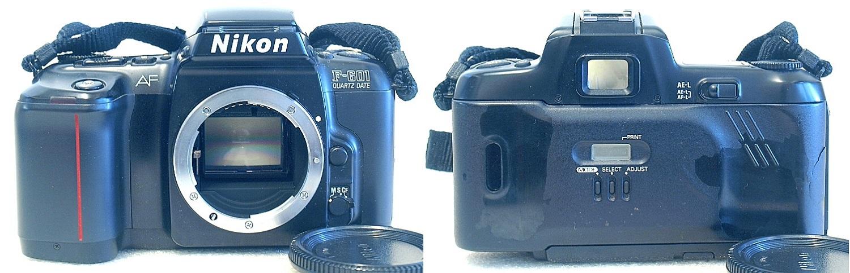Nikon F601 QD #756