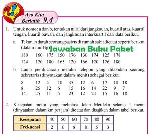Kunci Jawaban Buku Paket Matematika Kelas 8 Semester 2 Ayo Kita Berlatih 9.4 Halaman 260 161