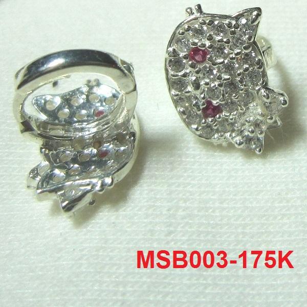 Bông tai Hello Kitty mã số MS-B003- Giá: 175,000 VNĐ - Liên hệ mua hàng: 0906 846366(Mr.Giang)