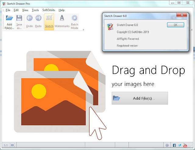 Screenshot SoftOrbits Sketch Drawer Pro 6.0 Full Version