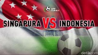Jadwal Timnas Indonesia vs Singapura - Piala AFF 2018
