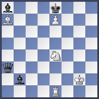 Proceso de composición de problemas de ajedrez, diagrama 5