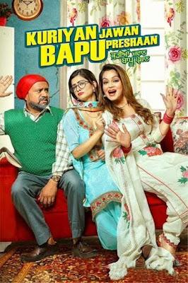 Kuriyan Jawan Bapu Preshaan (2021) Punjabi 720p HDRip ESub x265 HEVC 550Mb
