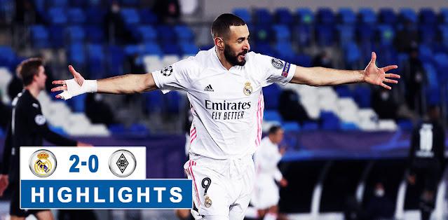 Real Madrid - Borussia M'gladbach Highlights