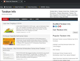 Mendesain Favicon Blog Tarakan Info