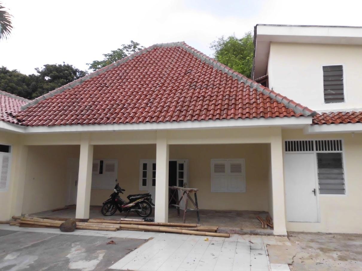 Hasil proyek Renovasi rumah kost 1 lantai  milik Bpk.Zainal Abidin di Jl. Bangka Baranangsiang, Bogor tahun 2010