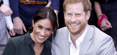 O casal Harry e Meghan Markle, que anunciou independência financeira da família real britânica