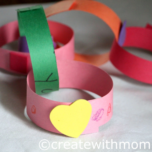 paper craft garland