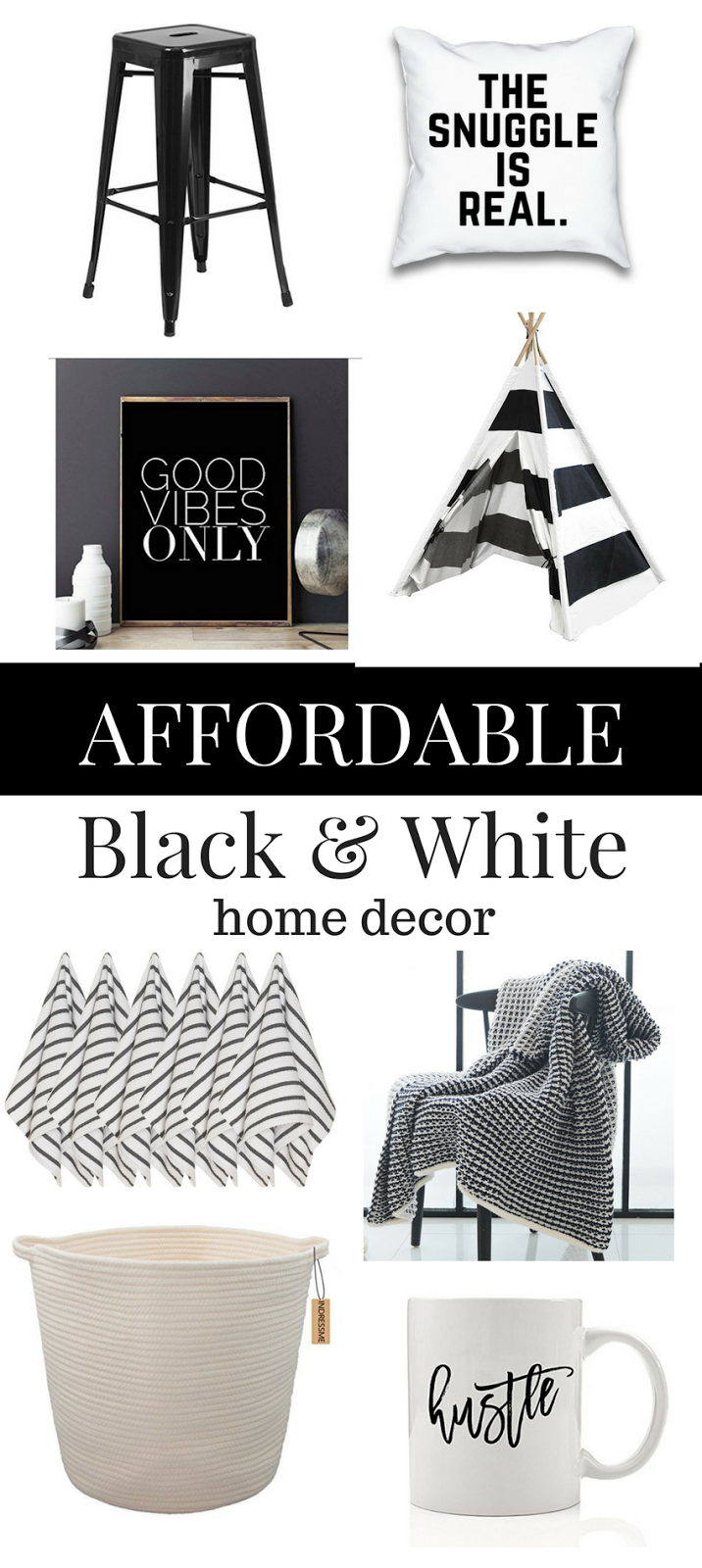 Black And White Pillows Wall Decor Furniture