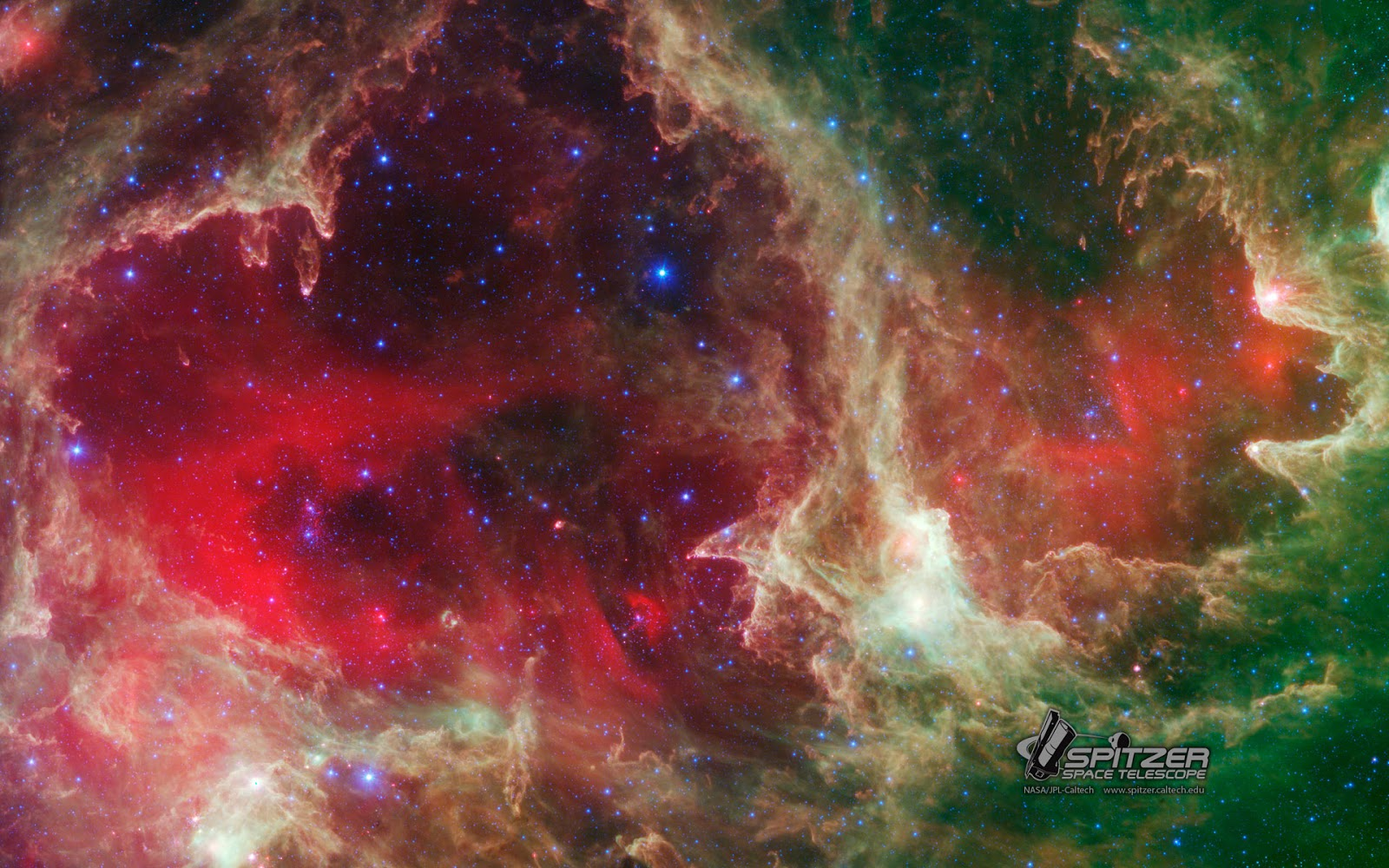 Free wallpapaers nasa spacescap - Spitzer space telescope wallpaper ...