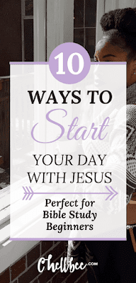 Bible Study | What better way to improve your day? Transform your day by inviting Jesus into your morning. #bibleverse #bible