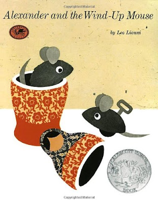 Alexander And The Wind Up Mouse, part of children's book review list about mice