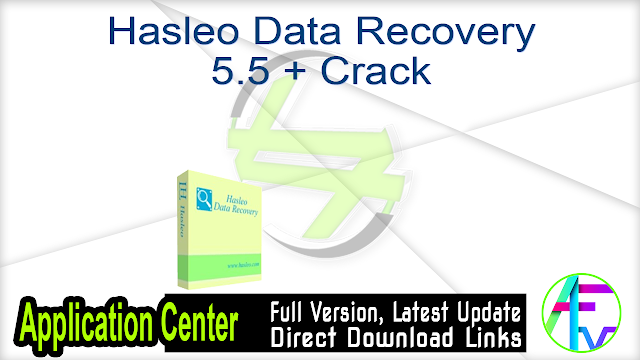 Hasleo Data Recovery 5.5 + Crack