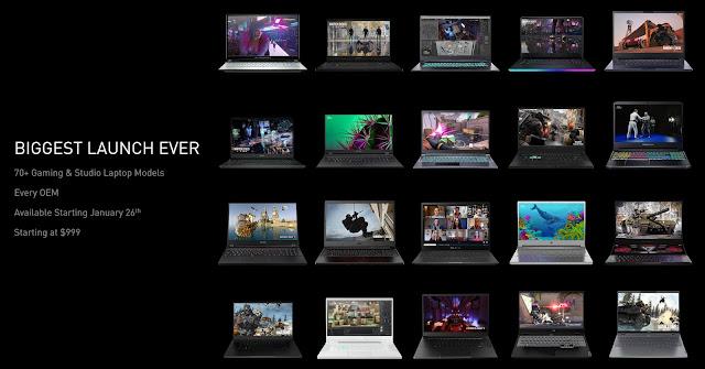Nvidia GeForce RTX 30 Series Laptop