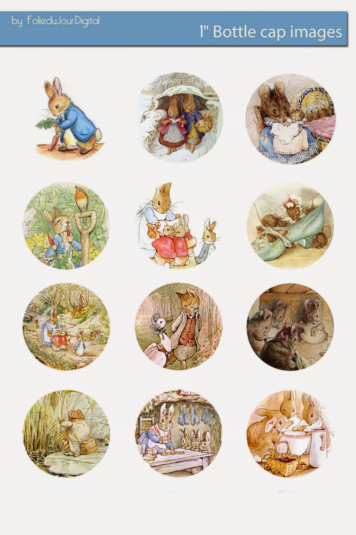 Beatrix Potter Illustrations Free Download